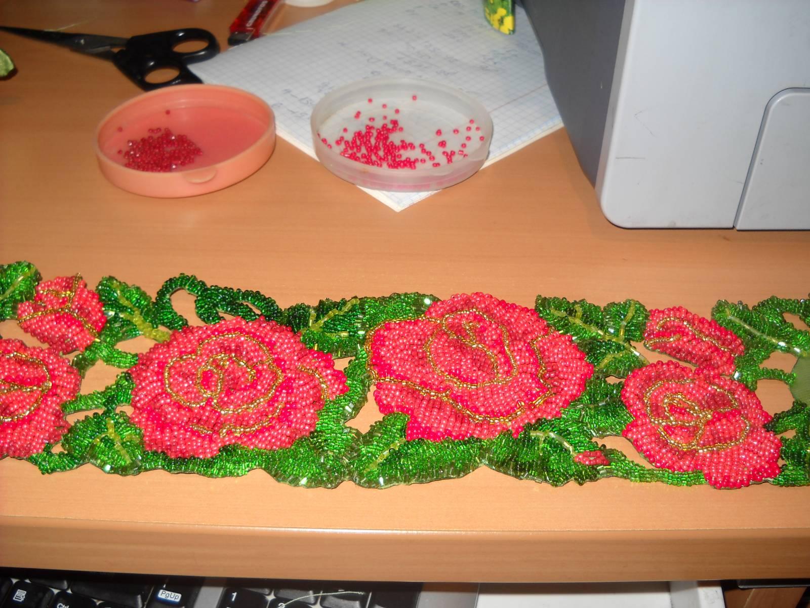 Схемы на вышивки из бисера пояс